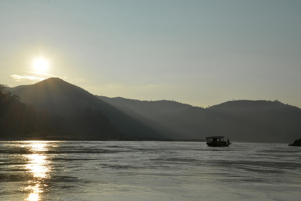 The serenity of the upper Mekong