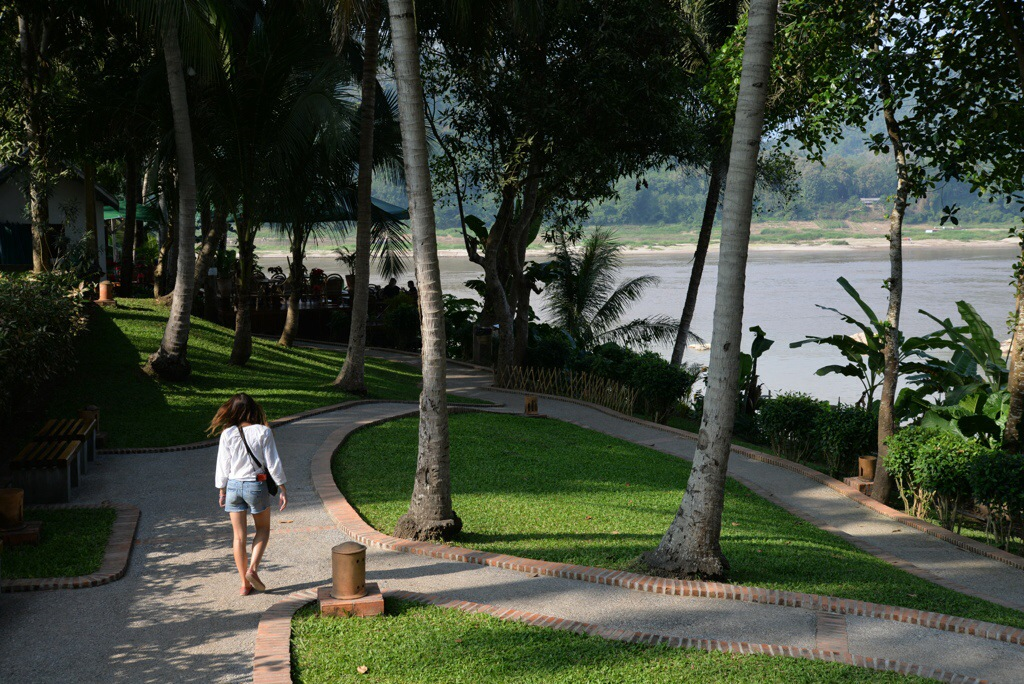 A walk down to the Mekong