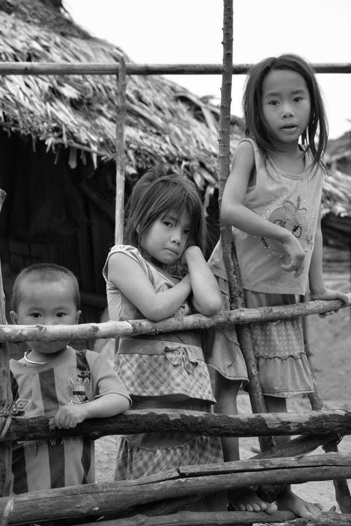 Kids in the village