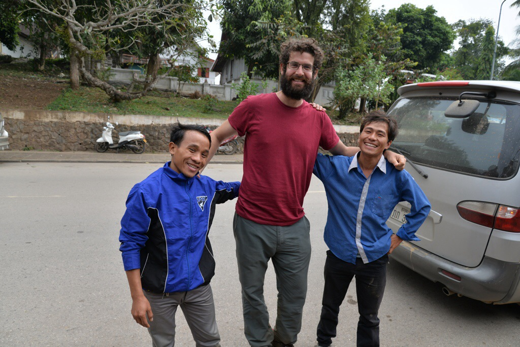 And with Aaron, back in Luang Prabang :)